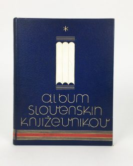 ART DECO BINDING: Album slovenskih književnikov [Album of Slovenian Authors].