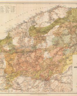 GEOLOGICAL MAP – ASIA MINOR. Paphlagonia. Reisen und Forschungen im Nördlichen Kleinasien [Paphlagonia. Travels and Discoveries in the Northern Anatolia].