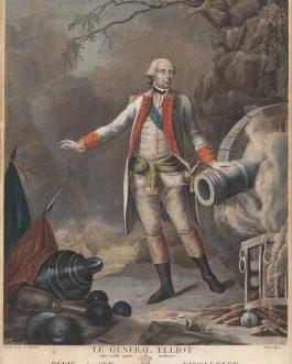 GENERAL GEORGE ELIOT: Le Général Elliot. Quo nihil majus meliusve. Dédié a son Excellence Milord Visomte de Torrington…