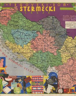 YUGOSLAVIA, KINGDOM OF: Trgovski dom Stermecki Celje [Depart...