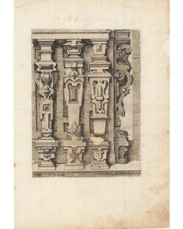 ARCHITECTURE: Etching by Wendel Dietterlin