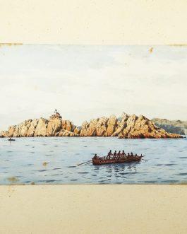DALMATIA, Croatia: Lighthouse Grebeni, Dubrovnik