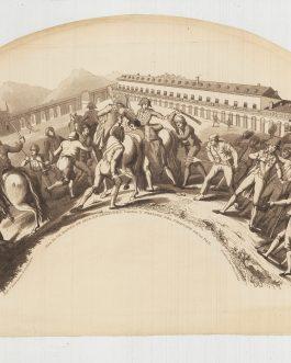 FAN: Dia 19 de Marzo de 1808. En Aranjuez. Caida y Prision del Principe de la Paz.