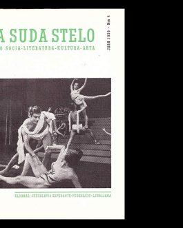 YUGOSLAV ESPERANTO ART MAGAZINE: La Suda Stelo. Jaro XXII. 1...
