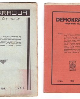 FEMINIST MOVEMENT – SOCIALISM: Demokracija. Socialistična revija [Democracy. Socialist Magazine].