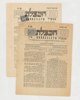 Habazeleth. No. 21 & No 47. חבצלת