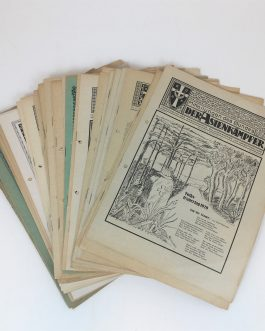 GERMAN MAGAZINES FOR ORIENT: MITTEILUNGEN DES BUNDES DER ASIENKÄMPFER [NEWS OF THE LEAGUE OF ASIAN WARRIORS].