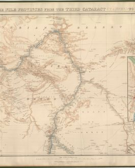 SUDAN / EGYPT – MAHDIST WAR – PAIR OF MAPS: