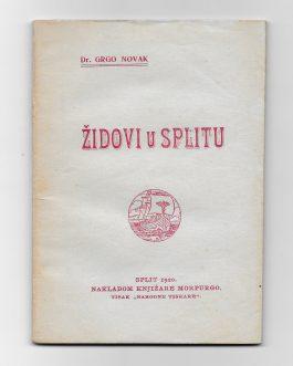 JUDAICA: Židovi u Splitu [Jews in Split]