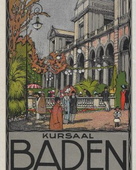 BADEN, SWITZERLAND: Kursaal. Baden. Schweiz. Suisse. Switzerland