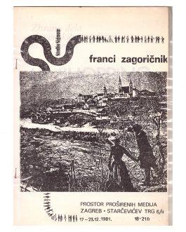 YUGOSLAV NEO-AVANTGARDE: Franci Zagoričnik. Prostor prošir...