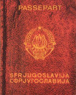YUGOSLAV CONTEMPORARY ART: Passepart SFR Jugoslavija. СФР Југославија. Aspects 75. Contemporary Yugoslav art