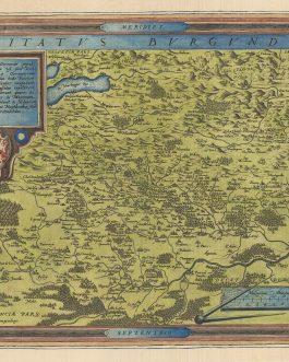 BURGUNDY – Franche-Comté: Comitatus Burgundiae