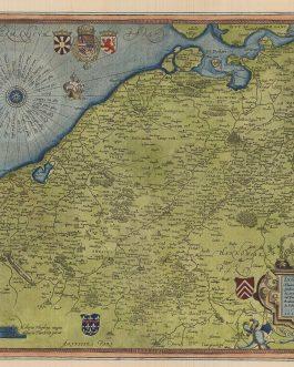 BELGIUM – Flemish Region: Exactissima Flandriae Desciptio