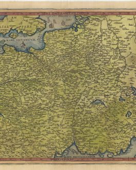 FRANCE: Nova Totius Galliae Descriptio