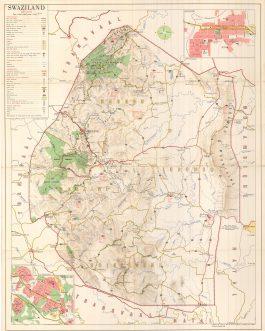 SWAZILAND: Swaziland Scale 1:250,000.