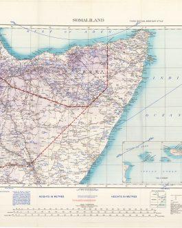 WW2 SOMALIA / DJIBOUTI / ETHIOPIA / SOCOTRA (YEMEN): Somaliland / Third Edition. / Army/Air Style