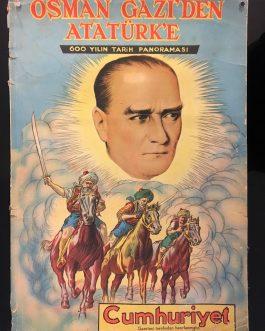 TURKIH PROPAGANDA FOR YOUTH: Osman Gazi'den Atatürk'e 600 Yılın Tarih Panoraması [From Osman Gazi to Atatürk. 600 Years of History in Pictures]