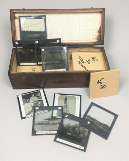 SOUTH AFRICA / PHOTOGRAPHY / SIEGE OF MAFEKING / BADEN-POWELL, FOUNDER OF THE BOY SCOUTS: Collection of 37 Glass Photographic Slides of the Siege of Mafeking (1899 – 1900).