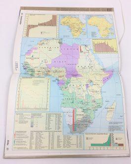 THEMATIC CARTOGRAPHY / STATISTICAL ATLAS: Haack Atlas Weltverkehr. Weltatlas des Transport- und Nachrichtenwesens  [Haack Atlas of Transportation. World Atlas of Transport and Communications]