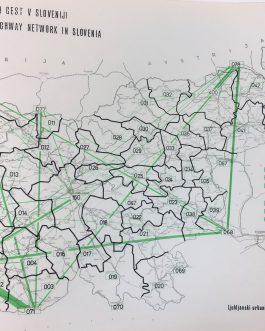DATA VISUALISATION: Prometna študija hitrih cest v Sloveniji [Traffic study of the highway network in Slovenia].