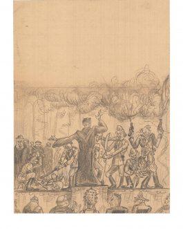 CROATIAN POST WWII ANTI-CHURCH AND ANTI-FASCIST PROPAGANDA: Koncert koljača u Vatikanu [The Concert of the Slaughters in Vatican].