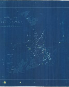 GHANA (GOLD COAST) – SEKONDI AFRICAN URBANISM: Sketch Plan of Secondee.