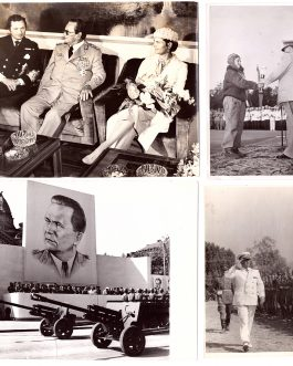 Josip Broz-Tito: 4 original photographs, ca 1950 -1978.