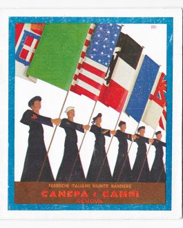 FIRM CATALOGUE FOR FLAGS AND BANNERS: FABBRICHE ITALIANE RIUNITE BANDIERE CANEPA & CAMPI. GENOVA