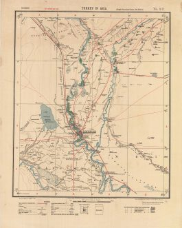 Baghdad Region, Iraq – World War I / Mesopotamian Campaign / Calcutta Imprint: Bāghdād. Turkey in Asia and Persia. (Rough Provisional Issue, Second Edition) / No. 2C. [Baghdad Region].