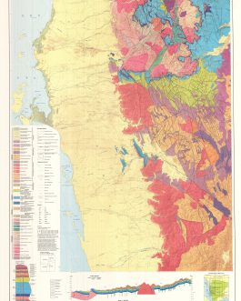 Yemen (North) Geological Map Printed On 4 Separately Issued Sheets