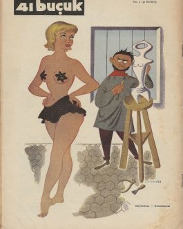 TURKISH PIN-UP MAGAZINES: 41 buçuk