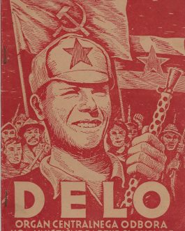 UNDERGROUND PRINTING / WWII / YUGOSLAV PARTISANS: Delo