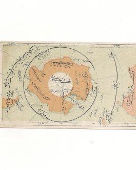 South Pole, Australia and South America