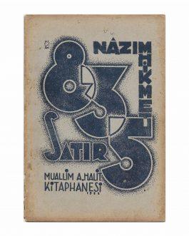 TURKISH AVANTGARDE / NÂZIM HIKMET: 835 Satır [835 Lines]