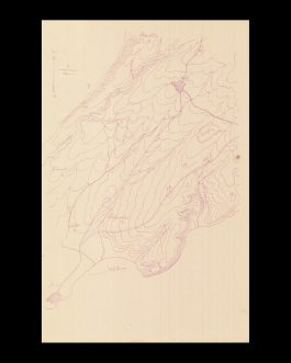 GALLIPOLI CAMPAIGN – BATTLES OF KRITHIA (ALÇITEPE):  [Untitled Ottoman Mimeographed WWI Military Map of the Southern Part of the Gallipoli Peninsula].