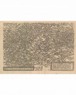 HUNGARY, CROATIA & SERBIA: Hungariae Loca Precipua Recens Emendata, Atque Edita Pera Ioannem Sambucum Pannonium . . . 1592