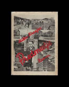 SLOVENIAN / YUGOSLAV BOOK DESIGN – PHOTOMONTAGE: Predmestje. Roman [The Suburbs. The Novel]