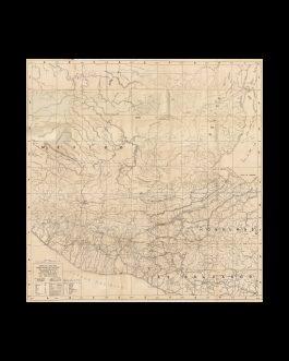 GUATEMALA / TRANSPORTATION MAP:  Mapa oficial de vialidad de la república de Guatemala C.A. / Admon. Gral. Jorge Ubico. / Levantado por la Dirección Gral. de Caminos.