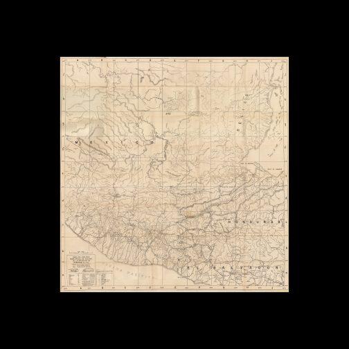 DIRECCIÓN GENERAL DE CAMINOS (GUATEMALA). / PRESIDENTE GENERAL JORGE UBICO (1878 - 1944). GUATEMALA / TRANSPORTATION MAP: Mapa oficial de vialidad de la república de Guatemala C.A. / Admon. Gral. Jorge Ubico. / Levantado por la Dirección Gral. de Caminos. [Guatemala City], June 30, 1942.