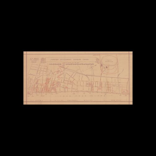 R.N. HEWITT, CIVIL ENGINEERS & ARCHITECT. CHINA – HANKOW / HANKOU (WUHAN) / URBANISM / FOREIGN TREATY PORTS: Foreign Settlement, Hankow, China. Hankow: R.N. Hewitt, Civil Engineers & Architect, [1927 - 1929].