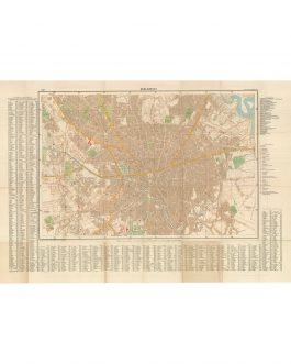 BUCHAREST, ROMANIA / WORLD WAR II / THIRD REICH CARTOGRAPHY:  Bukarest