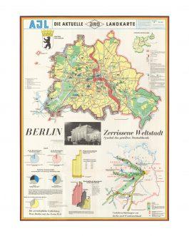 BERLIN WALL: Berlin – zerrissene Weltstadt, Symbol des geteilten Deutschlands