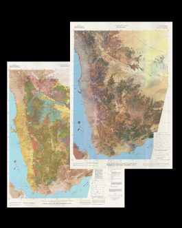 YEMEN (NORTH) GEOLOGICAL MAP / SATELLITE PHOTOGRAPHIC CARTOGRAPHY / PETROLEUM INDUSTRY