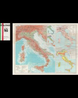 ITALY – SOVIET CARTOGRAPHY: Италия [Italija]