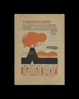 POLISH BOOK DESIGN / GEOLOGY:  Jak powstały Tatry [How the ...