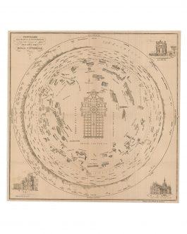 ROUND PANORAMA – MILAN: Panorama orografico e pittores...