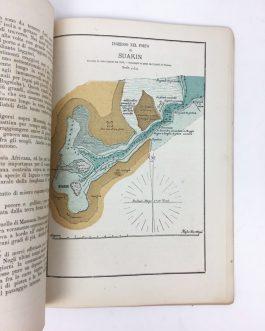 RED SEA / SAUDI ARABIA / YEMEN / EGYPT / PILOT BOOK / RIJEKA (CROATIA) IMPRINT: Materiali per la geografia fisica e per la navigazione del Mar Rosso con quattro piani di porto e dodici tabelle meteorologiche.