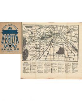 BERLIN – 1930s: Berlin i okolice. Dodatek: Rozmówki i słowniczek polsko-niemiecki