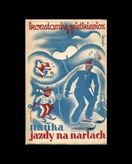 POLISH BOOK DESIGN / SKIING: Nauka jazdy na nartach (Ze szcz...